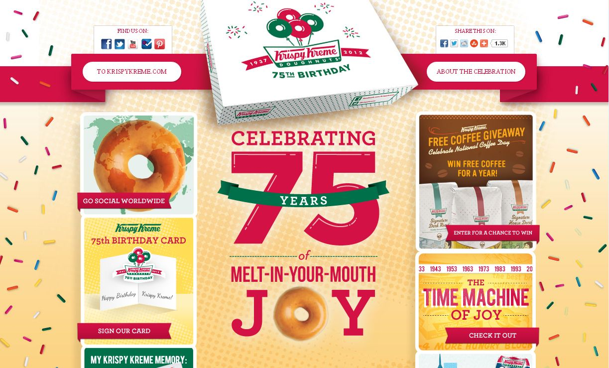 Krispy Kreme Free Coffee Giveaway Sweepstakes!