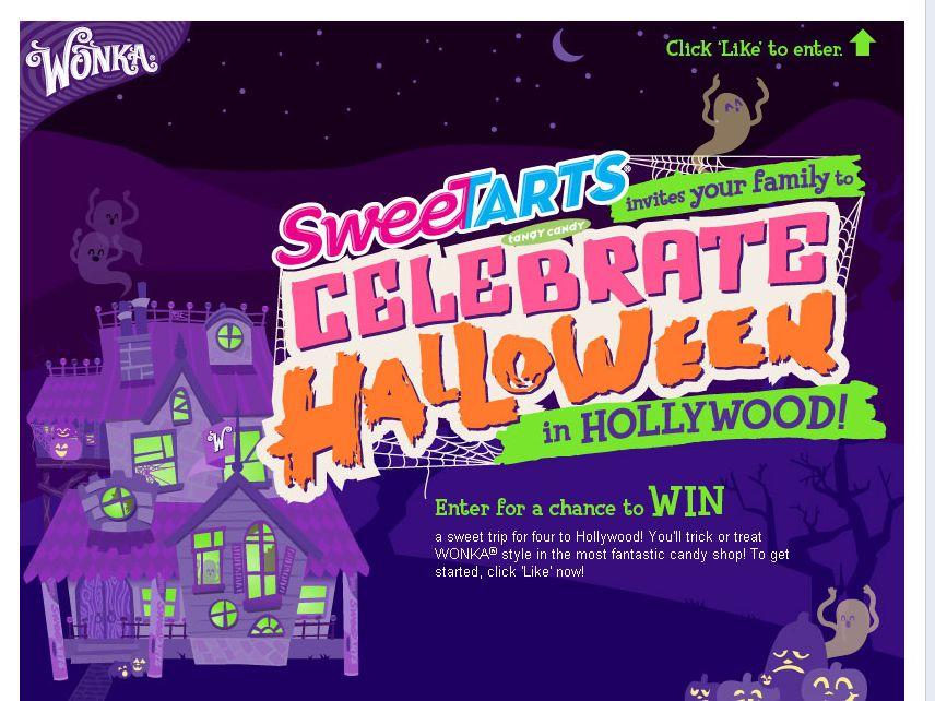 Sweet Tarts Celebrate Halloween in Hollywood!