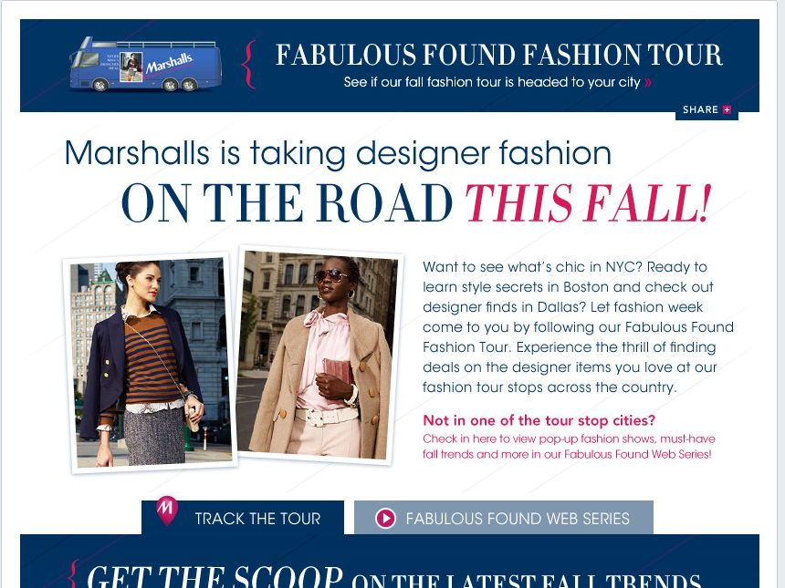 The Marshalls Fabulous Found Gift Card Daily Sweepstakes!
