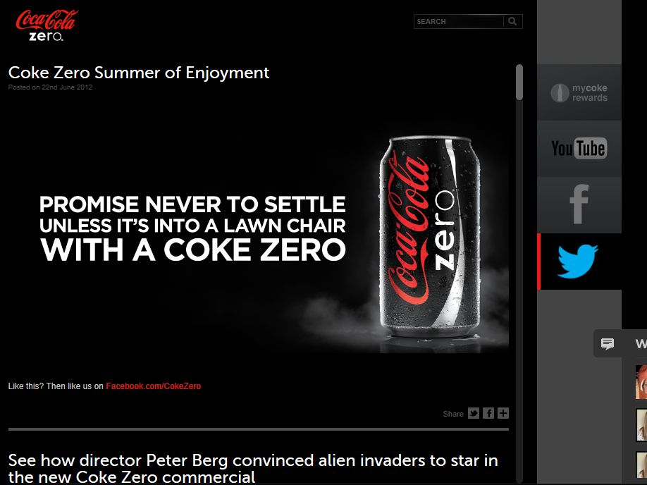 Coca-Cola Zero Fall Football EA SPORTS NCAA Football 13 Twitter Sweepstakes