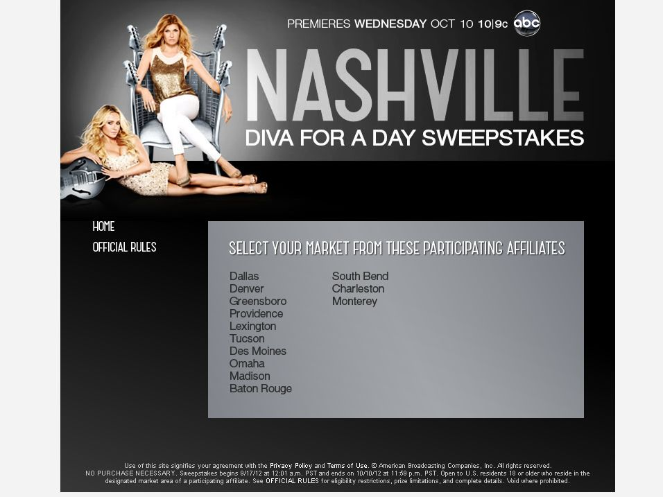 Nashville Diva for a Day Sweepstakes!