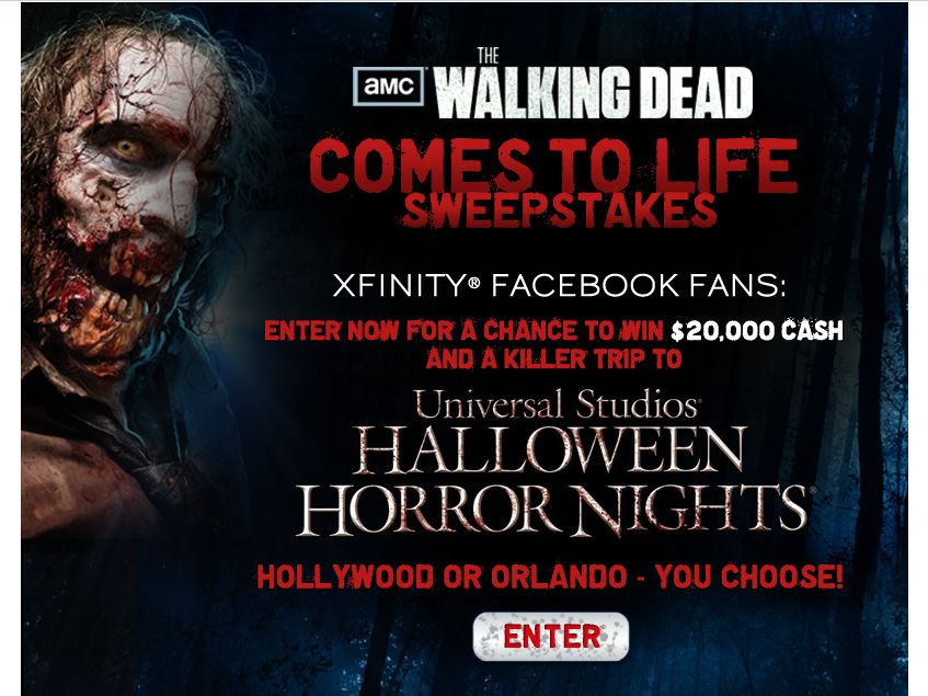 AMC's The Walking Dead Comes To Life Sweepstakes