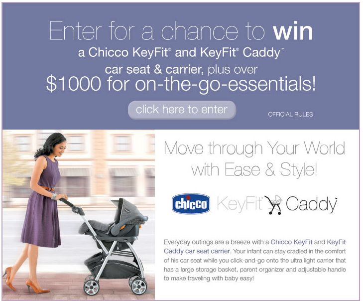 Move Through Your World with Chicco Sweepstakes