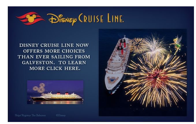 Disney Cruise Line Vacation for 4 from the Dallas Cowboys