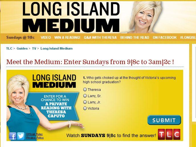 TLC's Meet the Medium Sweepstakes