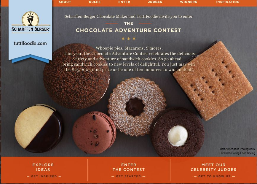 Chocolate Adventure Recipe Contest