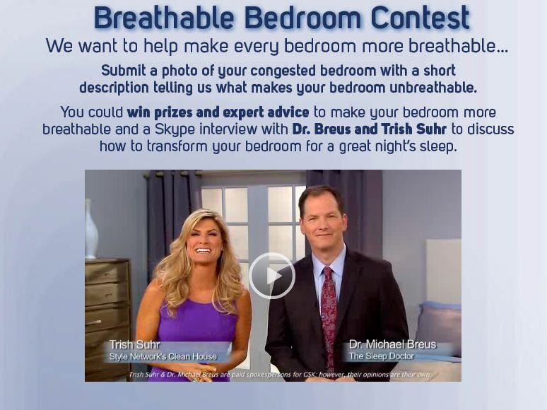 Breathe Right Breathable Bedroom Contest