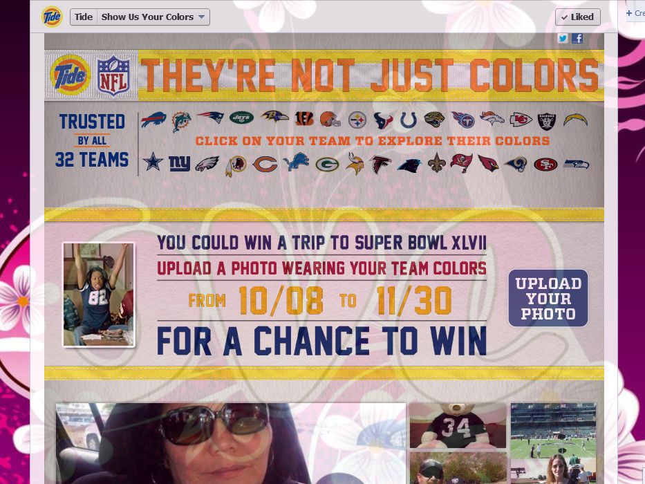 Tide Show Us Your Colors Sweepstakes