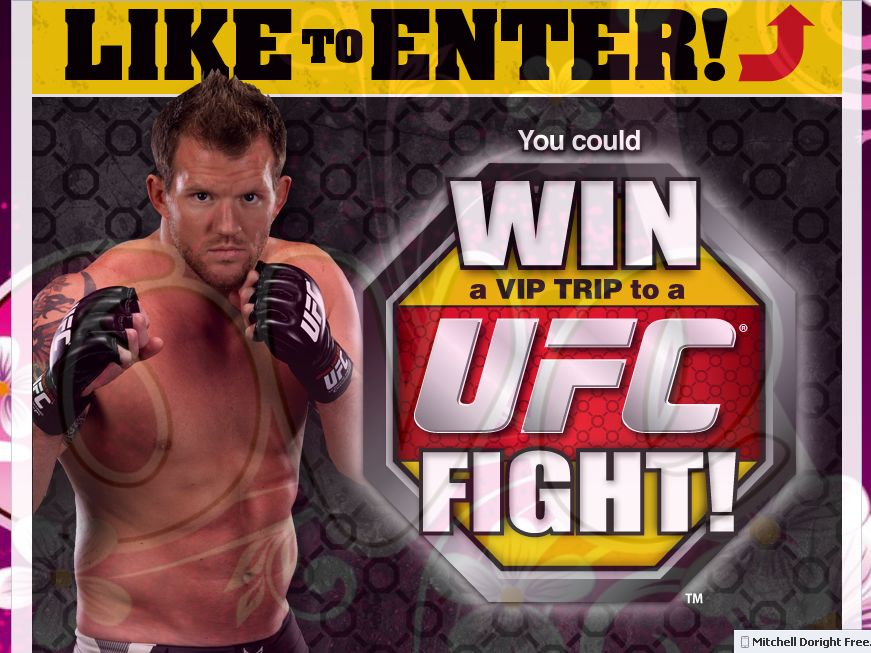 Hungry-Man Win a Trip to the UFC Sweepstakes