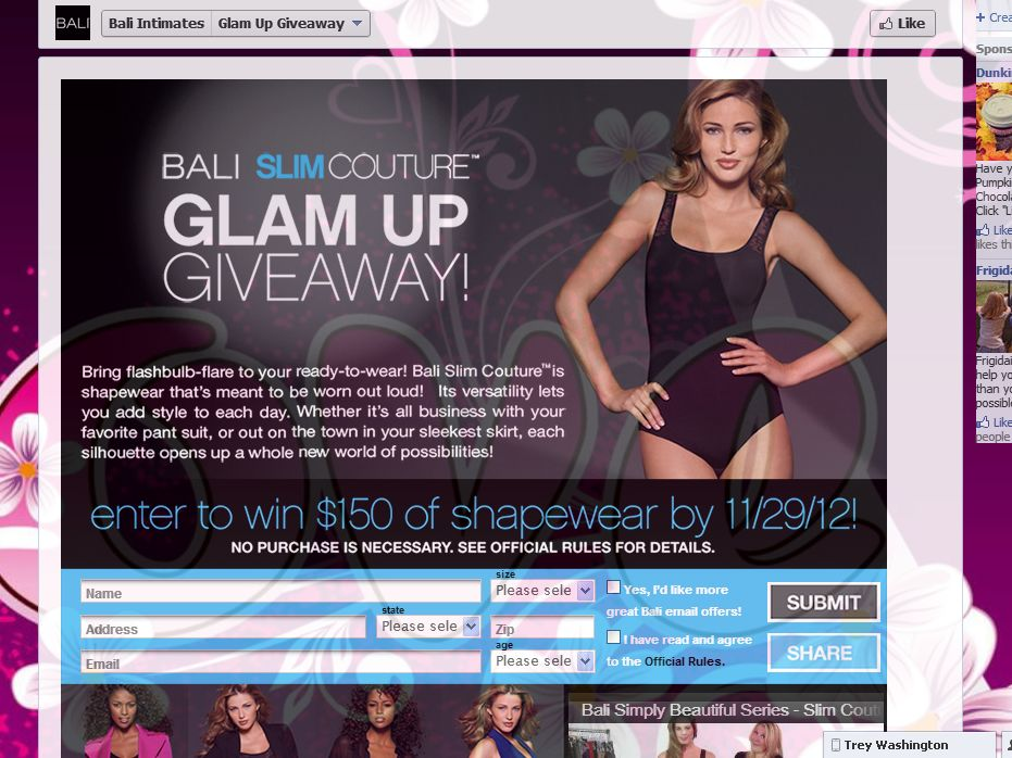 Bali Slim Couture Glam Up Giveaway