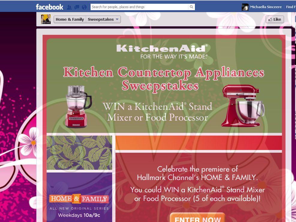 Kitchenaid Countertop Appliances kitchen countertop appliances sweepstakes