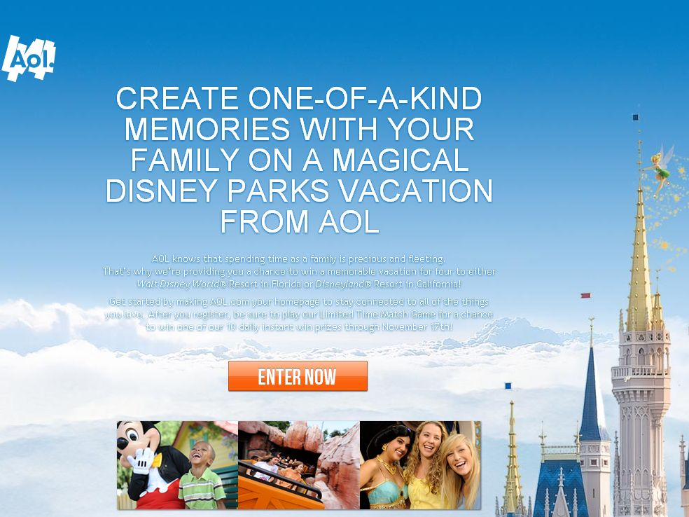 Disney Magic Vacation Giveaway Sweepstakes