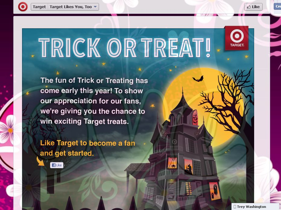Target Trick or Treat Instant Win Game and Sweepstakes