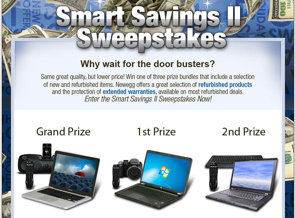 Smart Savings II Sweepstakes