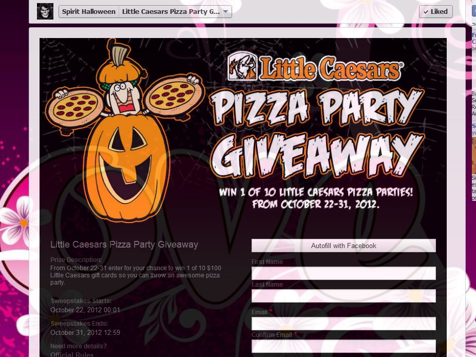 Little Caesars Pizza Party Giveaway