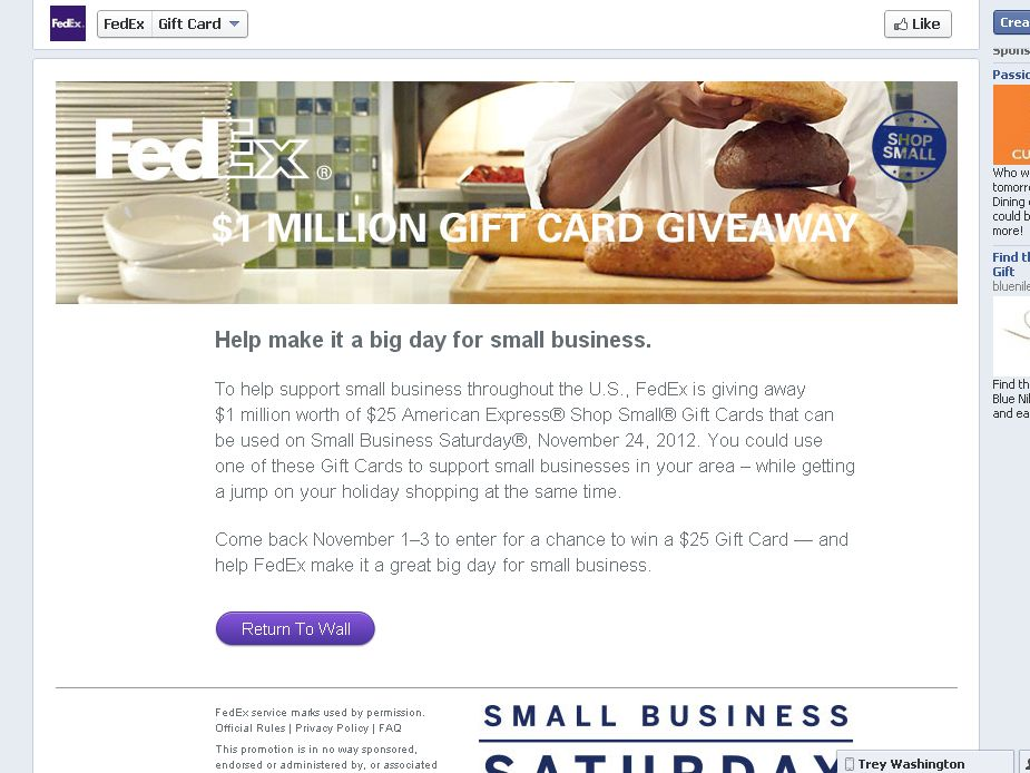 FedEx Small Business Saturday