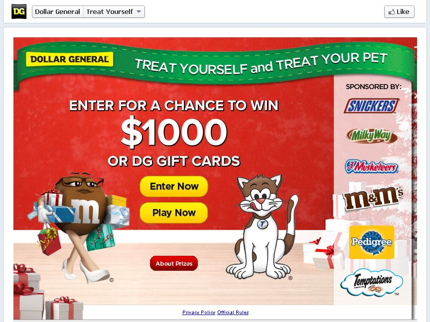 Treat Yourself, Treat Your Pet Sweepstakes