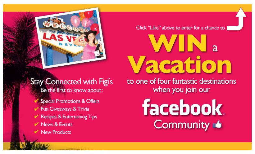 Figi's Fall 2012 Choice of Vacation Giveaway