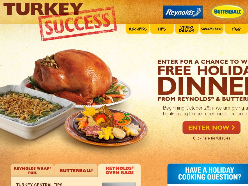 Turkey Success Sweepstakes