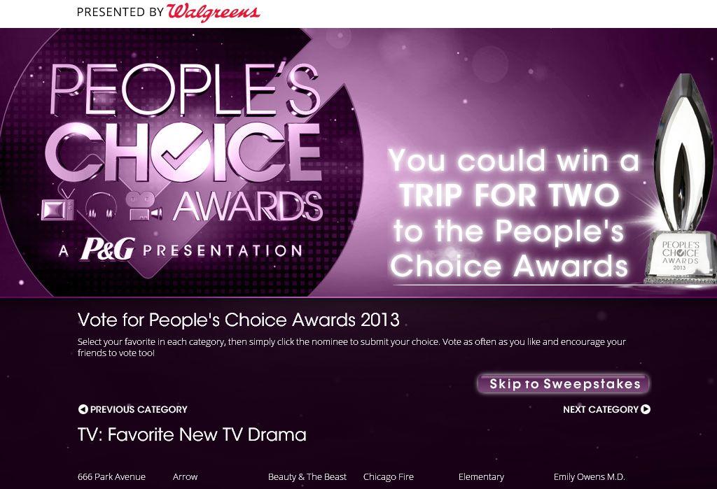 Walgreens People's Choice Awards
