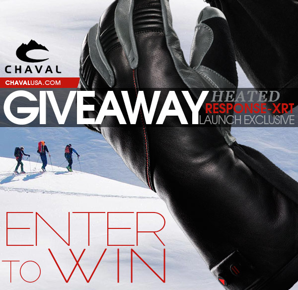 Chaval Premium Heated Gloves Launch Giveaway