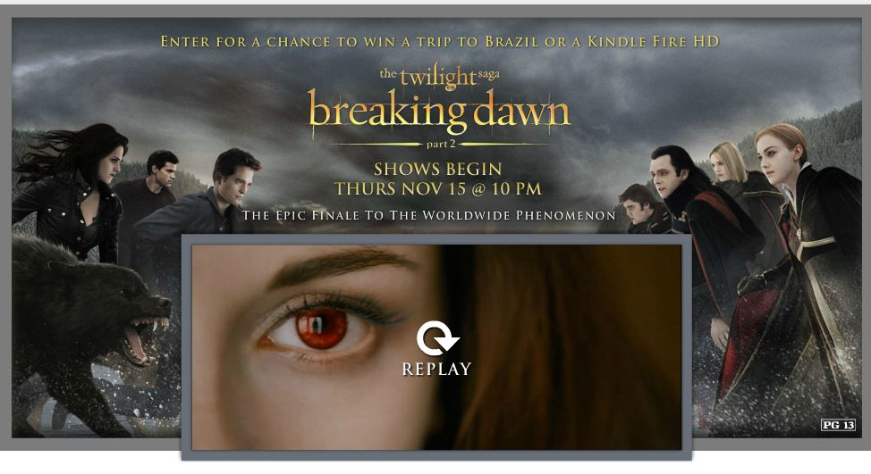 Amazon.com The Twilight Saga: Breaking Dawn - Part 2 Global Getaway Sweepstakes