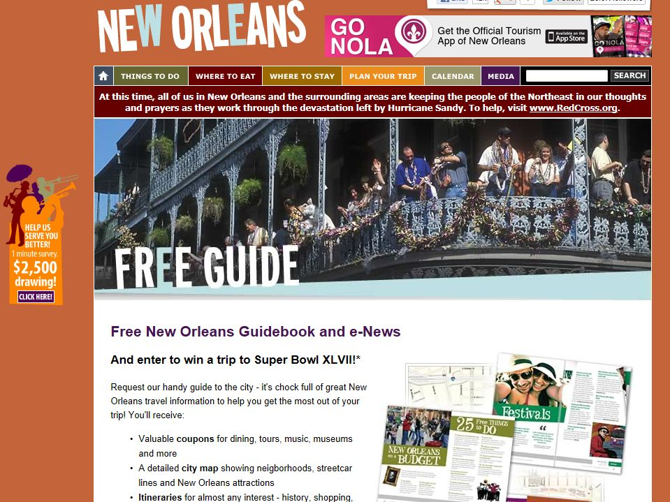 NewOrleansOnline 2012 Christmas New Orleans Style Sweepstakes