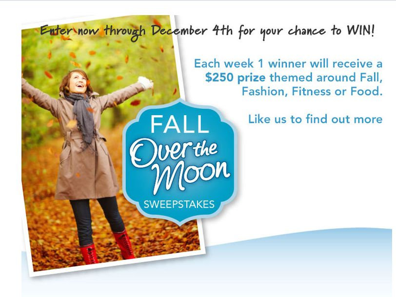 Fall Over the Moon Sweepstakes