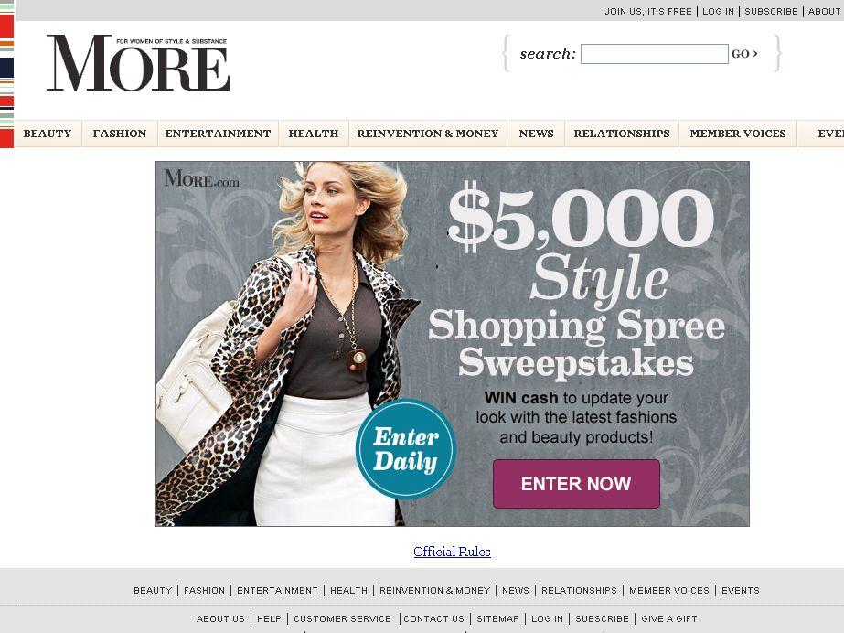 $5,000 Style Sweepstakes