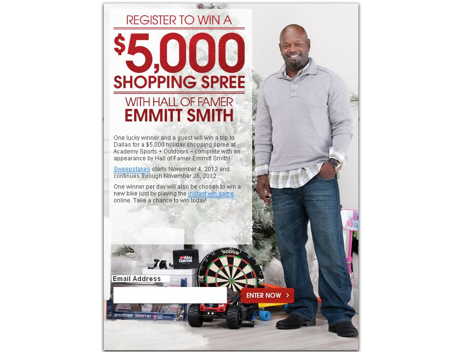 Ultimate Shopping Spree with Emmitt