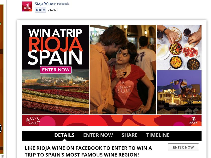 Vibrant Rioja Win a Trip to Rioja Sweepstakes