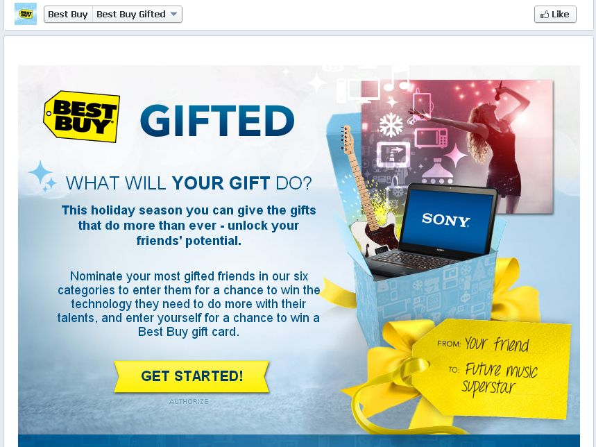 Best Buy Gifted Sweepstakes