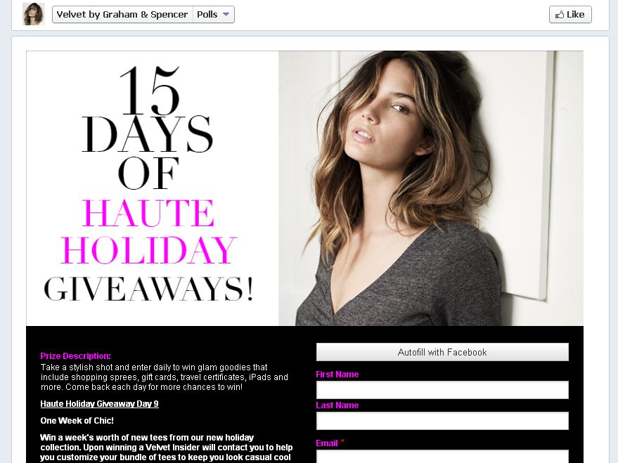 Haute Holiday Giveaway Day 9