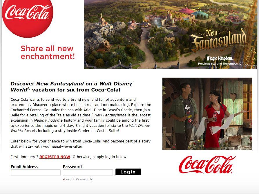 Coca-Cola Fantasy Sweepstakes
