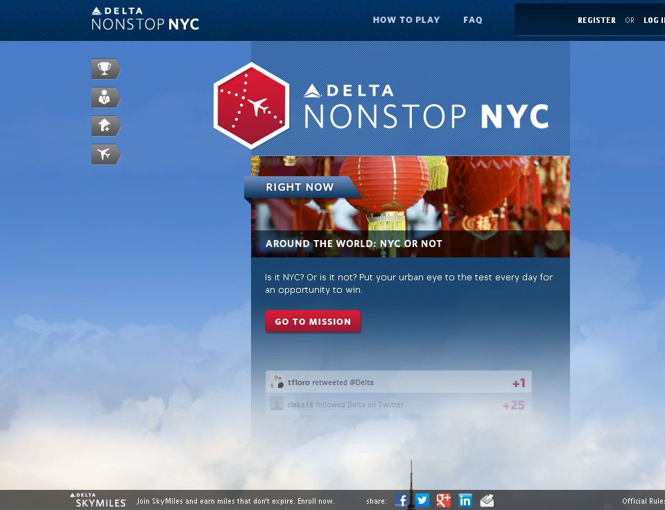 Delta Air Lines NonStopNYC