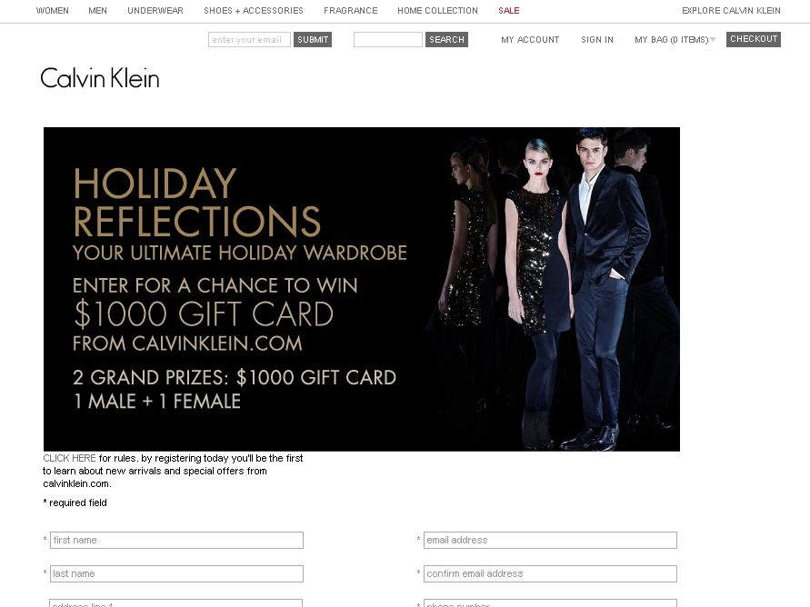 Calvin Klein Holiday Reflections Your Ultimate Holiday Wardrobe