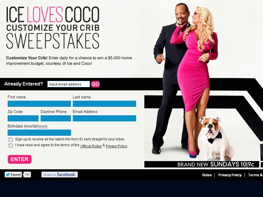 Ice Loves Coco Customize Your Crib Sweepstakes