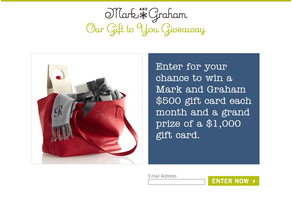 Williams Sonoma Our Gift to You Giveaway