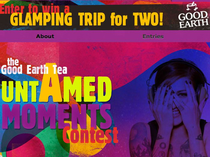 Good Earth Tea Win the Good Earth Untamed Moments Contest
