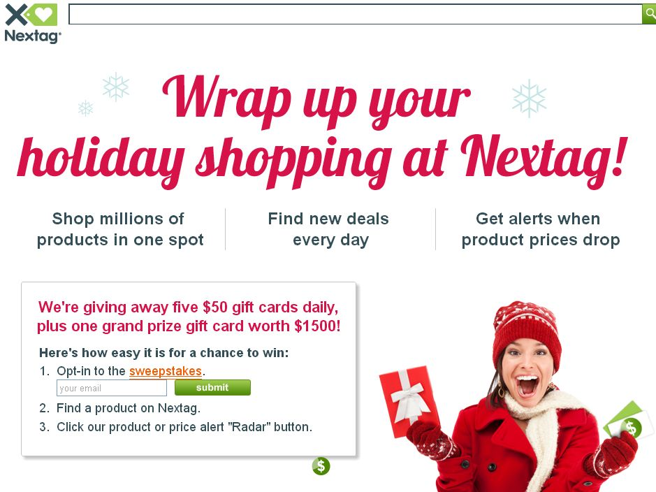 Nextag Holiday Sweepstakes