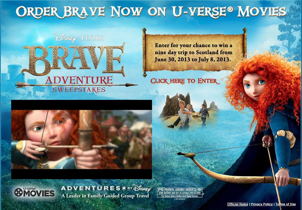 Brave Adventure Sweepstakes