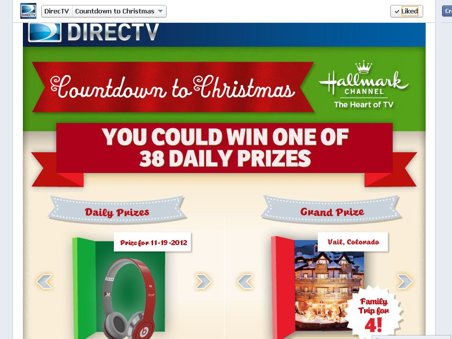 Hallmark Channel Countdown To Christmas Sweepstakes