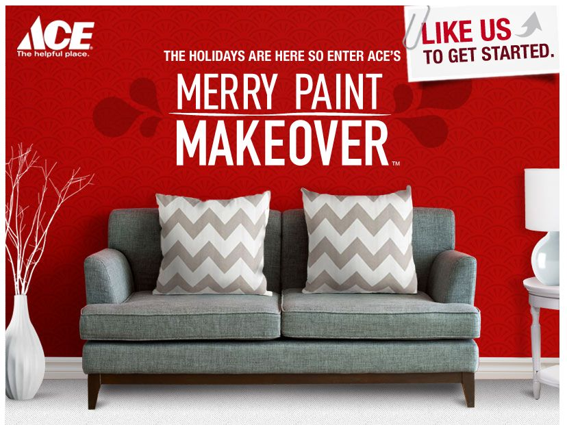 Ace Hardware Merry Paint Makeover Contest