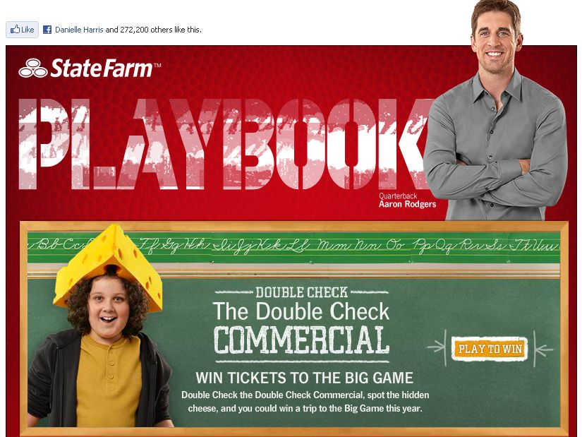 State Farm Double Check the Commercial Sweepstakes