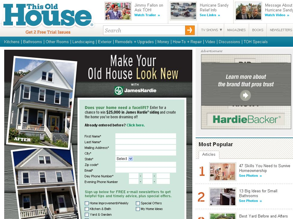 This Old House Make Your Old House Look New with James Hardie