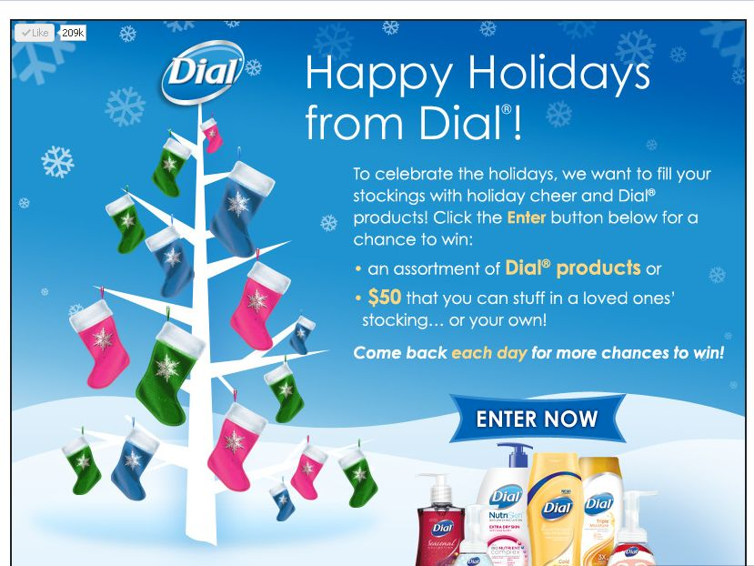 Dial Stocking Stuffer Giveaway