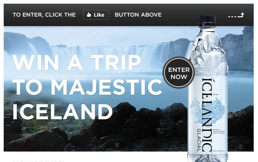 Experience Icelandic Winter 2012/13 Sweepstakes