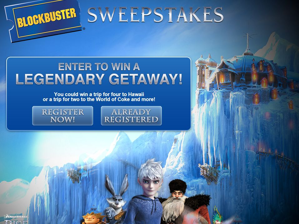 Blockbuster Scratch and Win and the Online Sweepstakes