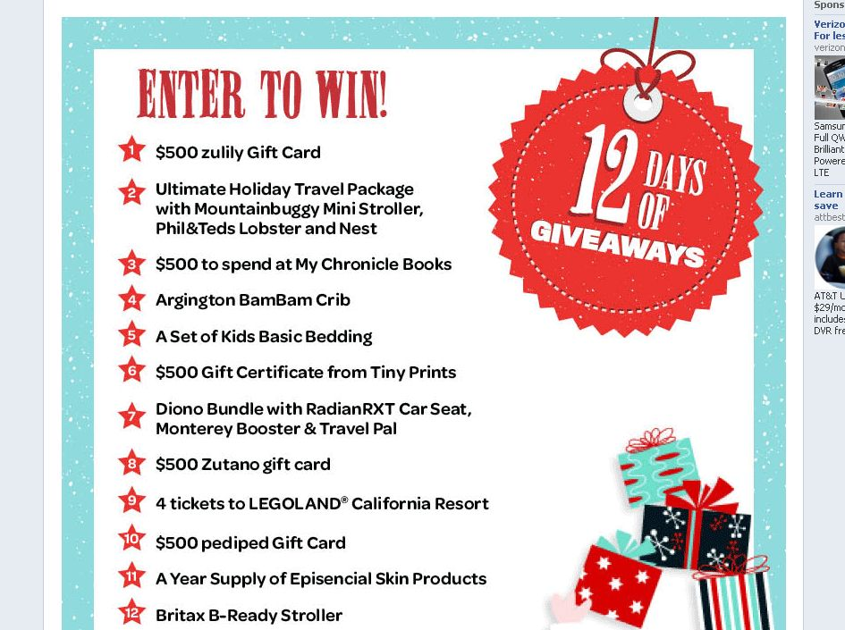 Red Tricycle 12 Days of Giveaways