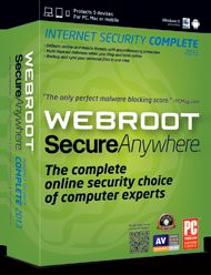 Webroot SecureAnywhere Complete 2013 Giveaway